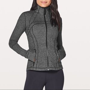 Lululemon define jacket - heathered grey and black